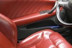 Luxury car interiour